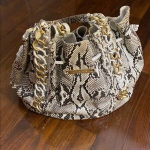 MICHAEL KORS authentic Python handbag